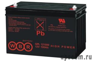 Аккумуляторная батарея WBR GPL 121000