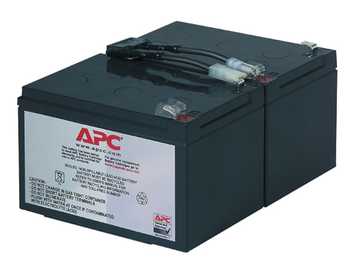 (#RBC6)APC Replacement Battery Cartridge #6(для SU1000,SUA1000) оригинал