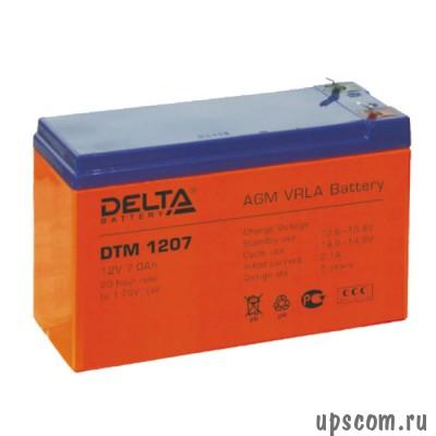 Аккумуляторная батарея Delta DTM 1207 (#DTM1207)