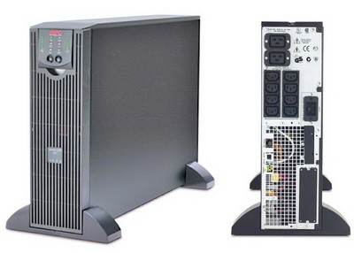 ИБП APC Smart-UPS RT, 3000VA (#SURTD3000XLI)