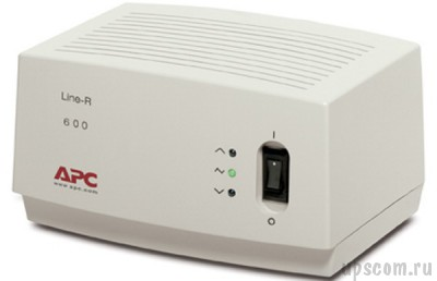 Стабилизатор напряжения APC Line-R 600VA Automatic Voltage Regulator (220, 230, 240 V) (#LE600I)
