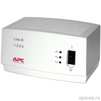 Стабилизатор напряжения APC Line-R 1200VA Automatic Voltage Regulator (220, 230, 240 V) (#LE1200I)