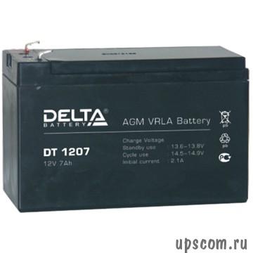 Аккумуляторная батарея Delta DT 1207 (#DT1207)