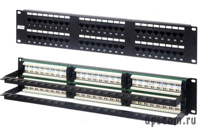 патч-панель Neomax cat.5e 19* patch panel 48 port